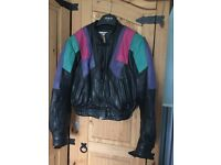 Ladies bike leathers very good condition size 10/12 pick up only