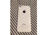 iPhone 5c, white, unlocked