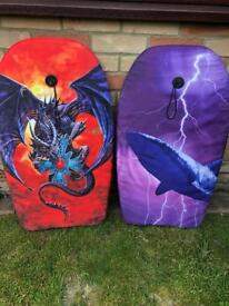 Two Boogie/Body Boards
