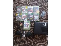 !! OFFERS WANTED !! Xbox 360 Slim 250gb Plug and Play Bundle Perfect Condition!!