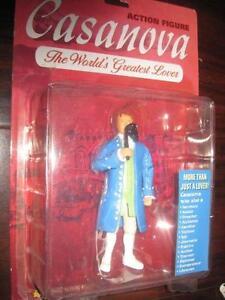 Casanova Action Figure. Giovanni Giacomo Casanova. NEW