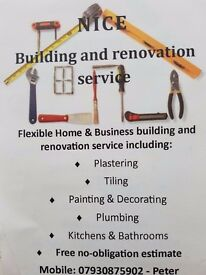 PLASTERING, TILING, PAINTING and more...