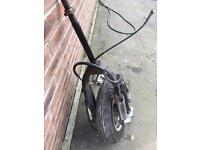 Moped front wheel