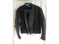 Motorcycle Leather Jacket - medium