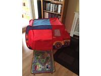Play tent - red truck