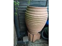Water butt barrel 150L with stand