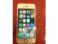 iPhone SE rose gold unlocked