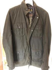 Men's Barbour jacket.