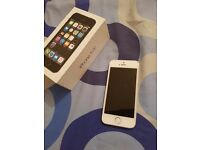 Iphone 5s silver unlocked boxed