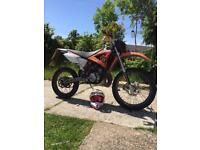 CPI SX SUPERCROSS WITH A 77cc bore kit registered as a 50cc