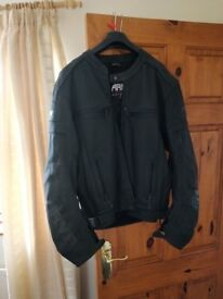 ARMR Leather Armoured motorbike jacket (suzuki,GSXR,CBR600,YAMAHA)