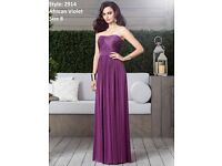 Dessy Bridesmaids 2914 Dress in African Violet, size 8