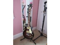 ROCKWOOD BY HOHNER LX250G ELECTRIC GUITAR LES PAUL STYLE