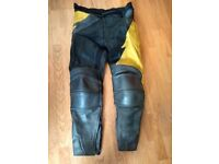 J+S Motorcycle Leather Trousers (46)