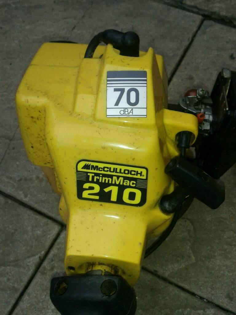 Mcculloch petrol strimmer spare or repair