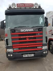 2006 Scania R420 Red Dot engine 6x2 Draw Bar Vehicle