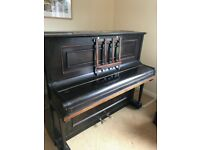 Piano - upright piano free for collection.