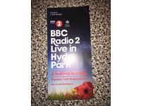 2x Radio 2 festival in a day 2016 tickets