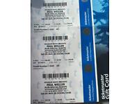 Paul Weller Tickets x3 29th November Barrowland