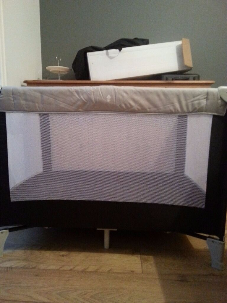 Babystart travel cot with carry bag and box. Good condition.