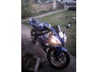 Yamaha yzf 125 tidy bike