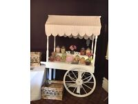 Sweet Cart for sale - fully collapsible for easy transport