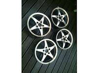 AUDI VW 16in alloy wheels