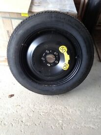 Ford space saver wheel and tyre