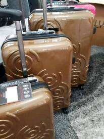 3 piece new luggage cases