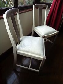 Chairs x2 for occasional/bedroom