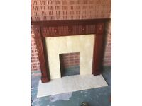 Reproduction Adams style fire surround