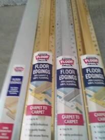 Floor edgings
