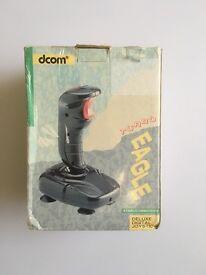 Retro Dcom Turbo Eagle Deluxe Digital Atari / Commodore Joystick - In Original Box - Vintage Antique