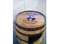 Oak Whisky Barrel Cabinet