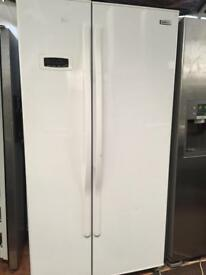 BEKO white good looking frost free A-class American style fridge freezer