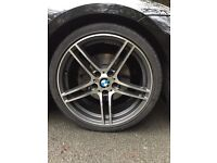BMW 313 front alloy wheels
