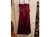 Size 14 bridesmaid dress