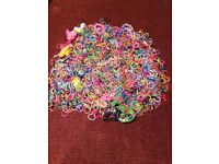 Thousands of Loom Bands with 2 loom boards and 4 picks