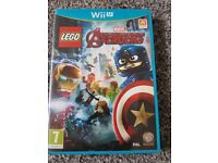 Wii u game lego avengers