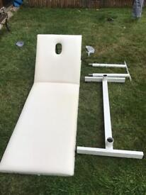 Fixed beauty bed
