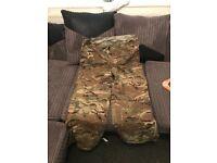 Camouflage waterproofs brand new NEVER BEEN WORN