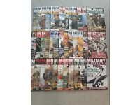Military Illustrated magazines bundle