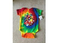 Exclusive M&M World body suit 12mth