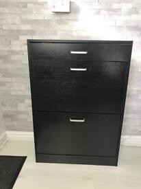 Large Black Shoebox