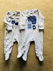 Next baby grows size up to 3 months