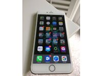 iPhone 6s Plus - Gold - Unlocked - Warranty - Actually Mint Condition - Free Shield and Case