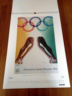 Plakatkalender Historische Sport Plakate Museum FOLKWANG  historisch Plakat 2018