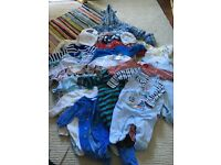 BABY BOY CLOTHES FOR SALE SIZE 0-3 MONTHS