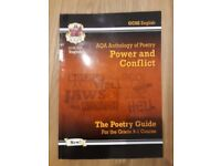CGP GCSE AQA English Revision Guide: Anthology of Poetry (Power and Conflict)