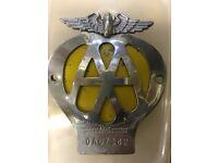 AA badge